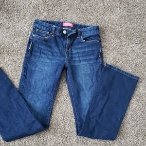 Girls size 14 slim bootcut old navy jeans